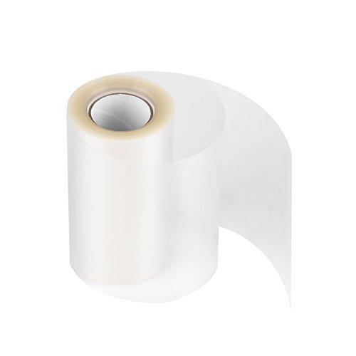 Deux Rouleaux Ruban en PP Film à Chemiser Transparent Feuilles de Papier pour Cercle Pâtisserie(8cm*10m,lot de 2)