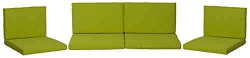 beo Lounge Cuscino Ricambio per Gruppi di Monaco Set Sostituzione Cuscino Impermeabile Set con 8, Spessore 5cm, Verde Chiaro