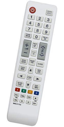 ALLIMITY BN59-01175Q Fernbedienung Ersetzen für Samsung Full HD Smart TV UE32H6410 UE32J4515 UE32J4580 UE32LS001FU UE40H6410SS UE40JU6515 UE40JU6580 UE48JU6515 UE48JU6580 UE55H6410
