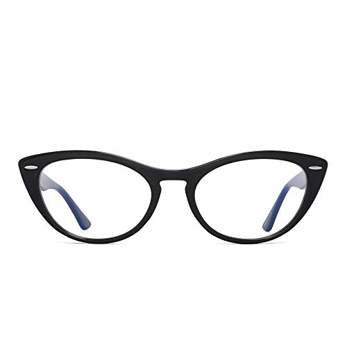 GLINDAR Bloquea Luz Azul Gafas Mujer Ojos Gato Anteojos