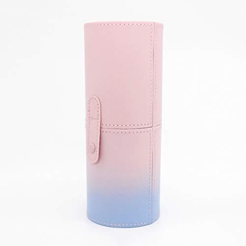 DIAOD Pu Leder Reise Make-up Pinsel stifthalter lagerung leer Halter kosmetische Pinsel Tasche Pinsel Organizer bilden Tools (Size : Large)