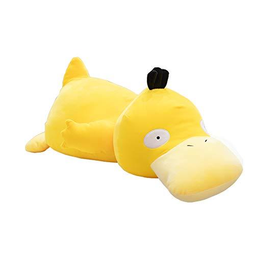 LXDWJ Naughty Sluggish Plush Lying Duck Throw Pillow Stuffed Japan Anime Figure Muñeca de Juguete Nap Sleep Pillow para niño