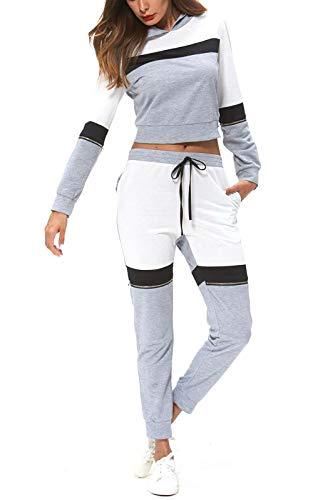 Frauen Anzug Set T-Shirt Top Hosen Sets Gym Sportanzug Sets Jogger Hosen