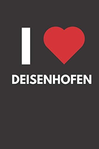 Deisenhofen: Notizbuch, Notizblock, Notebook | Liniert, Linien, Lined | 120 Seiten, DIN A5 (6x9 Zoll) | Notizen, Termine, Ideen, Skizzen, Planer, ... | Deine Stadt, Dorf, Region, Liebe und Heimat