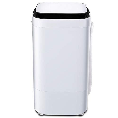 Mini Halbautomatische, Single Barrel, Unterwäsche, Baby, Wasch- / -schleudermaschine (Black)