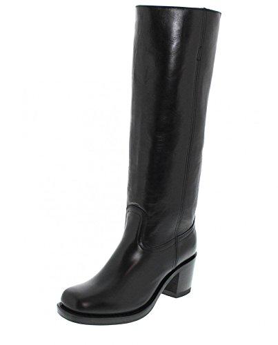 Sendra Boots 12987 Gracy Negro Lederstiefel für Damen Schwarz Damenstiefel, Groesse:39