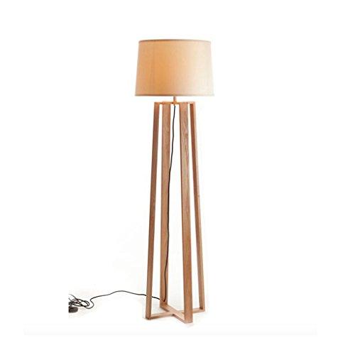 Good thing Lampadaire Moderne Minimaliste Creative Floor Lamp Living Room Study Chambre Lampadaire Bois Bois Lampadaire