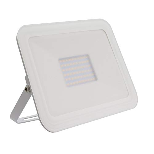 Foco Proyector LED Slim Cristal 50W Blanco Blanco Neutro 4000K - 4500K