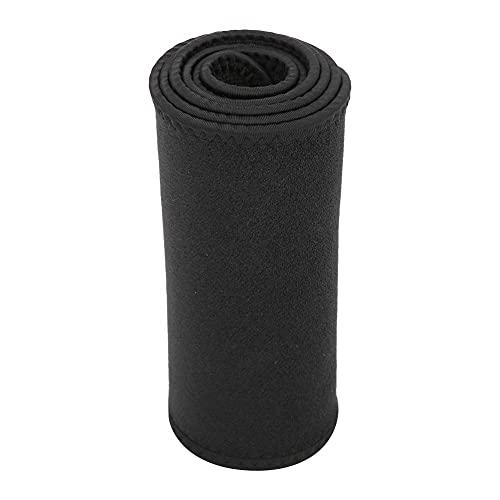 Alomejor Fitness Taillentrainer Sport Wasserdicht Verstellbar Taillenstützband Schweißabsorbierender Lendenwirbelstützenschutz für Männer Frauen(L(110cm*20cm))