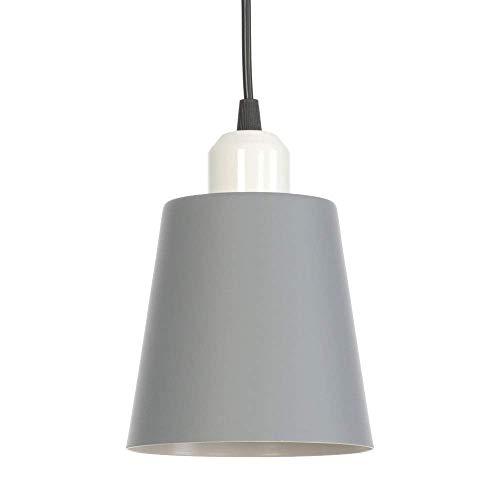 Lámpara colgante de metal vintage, candelabro moderno de hierro forjado ajustable E27 Luz de techo interior minimalista para sala de estar, comedor, cocina, dormitorio para decoración del hogar