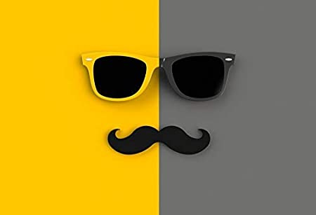 6x5ft Vinyl Backdrop Happy Fathers Day Backdrops Best Dad Party Blue Photography Backgrouds Gentleman Hat Moustache Glasses Gift Box Decorations Father Birthday Photobooth Props