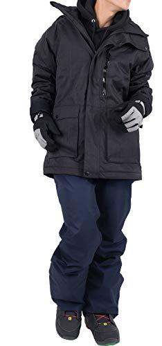 スノーボードウェアスキーウェアメンズ上下セットユニセックスlss01
