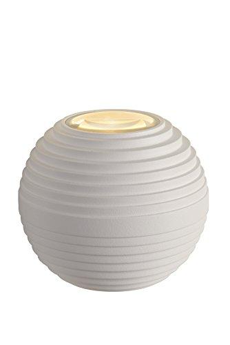 Lucide AYO - wandlamp buiten - Ø 9 cm - LED - 2x3W 2700K - IP54 - wit