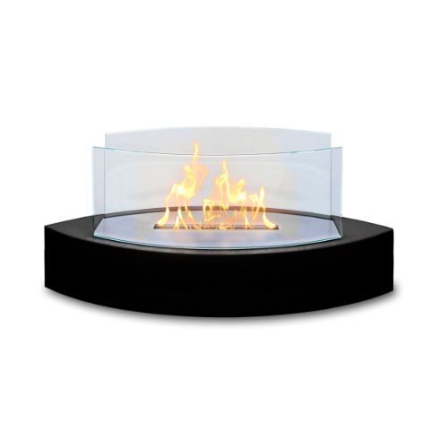 Anywhere Fireplace Lexington Table Top Ethanol Fireplace (Black)