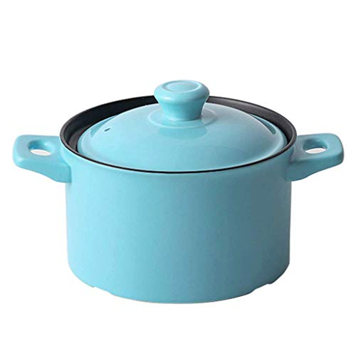 YLJYJ Ceramic Cast Iron Saucepan and Shallow Skillet Lid Set Sauce Pot & Nonstick Frying Pan (Color : B)(hot pot)