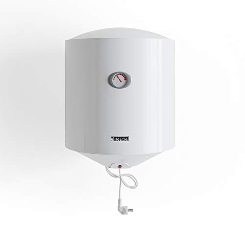ELDSTAD Boiler PERMA PLUS Warmwasserspeicher weiß 35-100 L Sicherheitsventil (80 l)