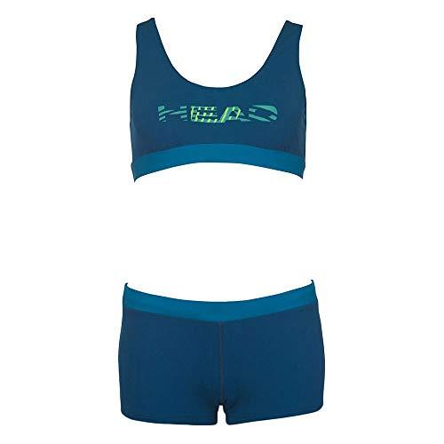 HEAD SWS Colourise S Bikini Shorty Unisex Erwachsene M Benzin-Blu
