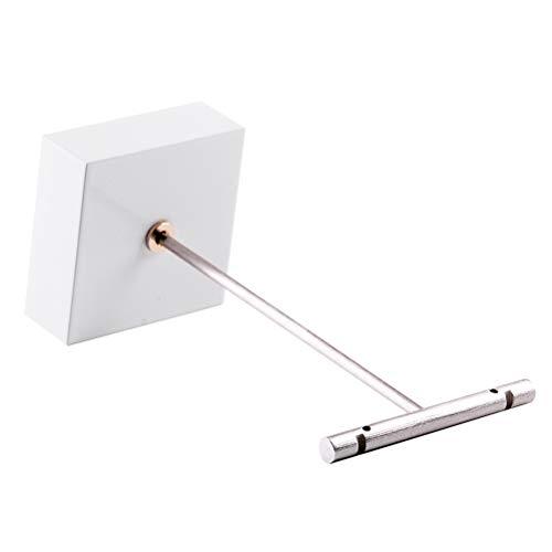Cabilock Fashion 1 Stück T-förmige Ohrring-Aufbewahrungsregal aus Massivholz für Ofenlack, Ohrringe, Ausstellungsregal ohne Schmuck für Shop