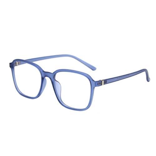 MU CHAOHAI Vierkante Platte bril Blauwlichtbril Literaire Gassen Frame Damesbril
