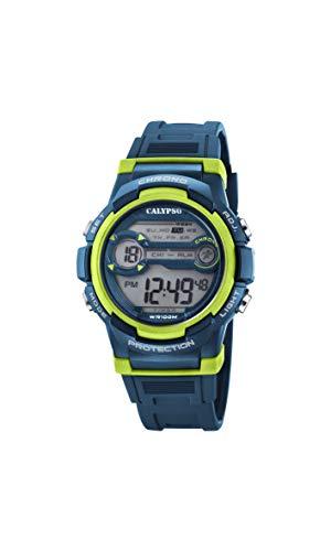 Calypso Jungen Digital Quarz Uhr mit Plastik Armband K5808/3