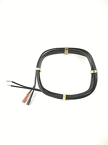XB3 Fahrrad Lichtkabel 2 Kabelschuhen für Dynamo Beleuchtung Kabel Fahrradlicht Rücklicht