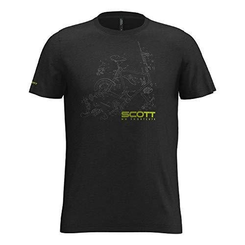 Preisvergleich Produktbild SCOTT T-Shirt Tee Herren 10 Graphic Dri s / sl Black L