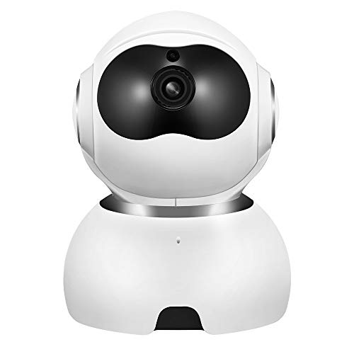 Funien Smart Camera, Smart HD Camera 2MP 1080P Vigilancia WiFi IP CAM con detección de Movimiento Visión Nocturna Audio bidireccional Almacenamiento en la Nube para Monitor Pet Security EU