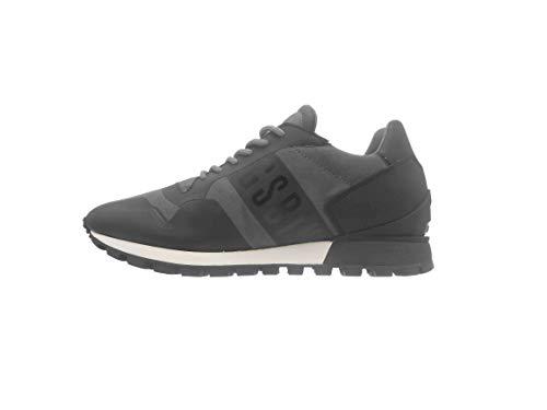 Bikkembergs Fend-ER 944, Sneaker a Collo Basso Uomo, Grigio (Grey), 44 EU