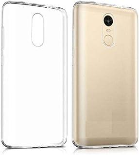 xiaomi redmi note 4 & 4X silicon transparent Back Cover