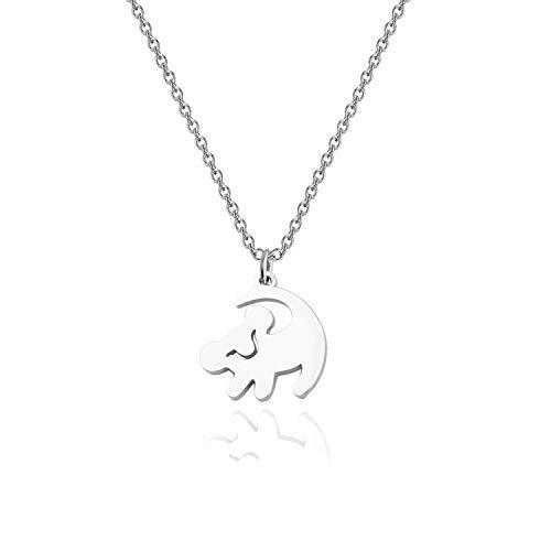 FOTAPP The Lion King Inspire Gift Simba Necklace Lion King Gift Valentine's Jewelry (Lion King Necklace)