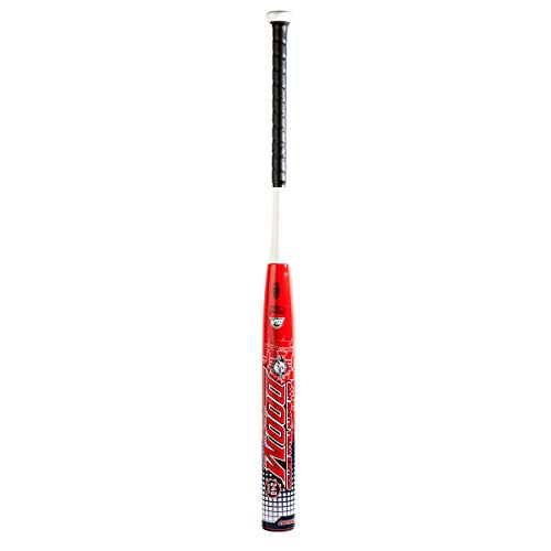 Dudley Dan Smith Doom Max End Load USSSA Slowpitch 240 Series Softball Bat 28 oz, red White