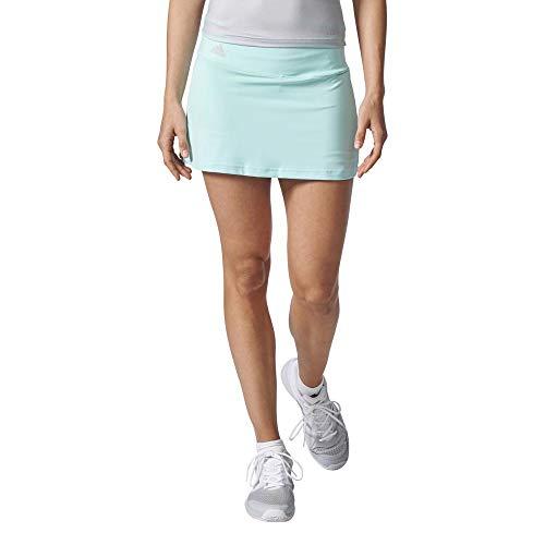 adidas Advantage Falda de Tenis, Mujer, Multicolor (Aquene),...