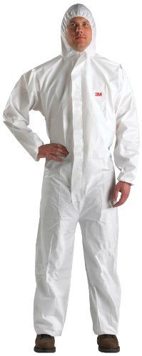 3M Disposable Protective Coverall 4510-BLK-L, 25 EA/Case
