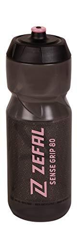 Zefal Unisex Sense Grip 80 Wasserflasche, Schwarz/Pink, 800 ml