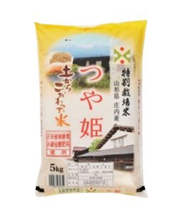 山形県産 万田植物酵素・米糠発酵肥料使用 「つや姫」 5kg
