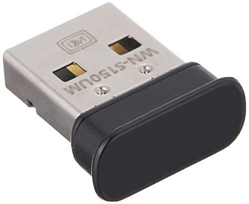 I-O DATA IEEE802.11n/g/b準拠 150Mbps WPA3対応 超小型Wi-Fiアダプター 日本メーカー WN-S150UM