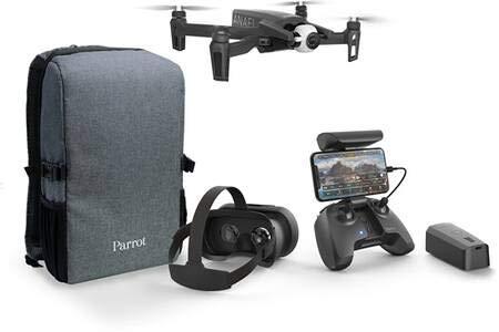 Parrot - Drone 4K Pack Anafi FPV + 1 batería adicional