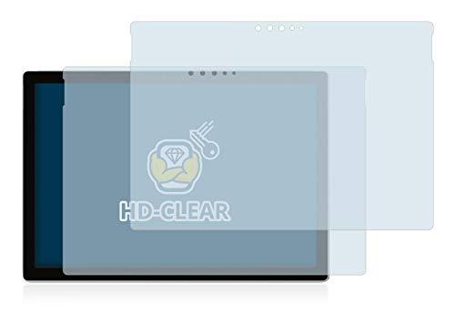 BROTECT Schutzfolie kompatibel mit Microsoft Surface Pro 6 (2 Stück) klare Displayschutz-Folie