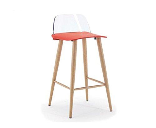 Tabouret en bois Chaise De Loisirs Créatifs De Mode Simple Design Bar Chaise Tabouret De Bar Maison Haut-pied Table Et Chaises (Couleur : #8)