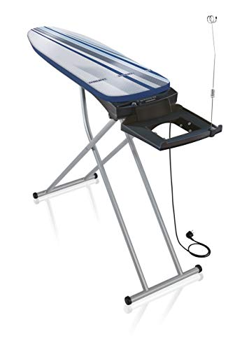 Leifheit Bügeltisch Air Active Express M für schnelles Bügeln, Bügelbrett zum Bügeln ohne Falten, Bügelbrett für Dampfbügelstationen für glatte Wäsche