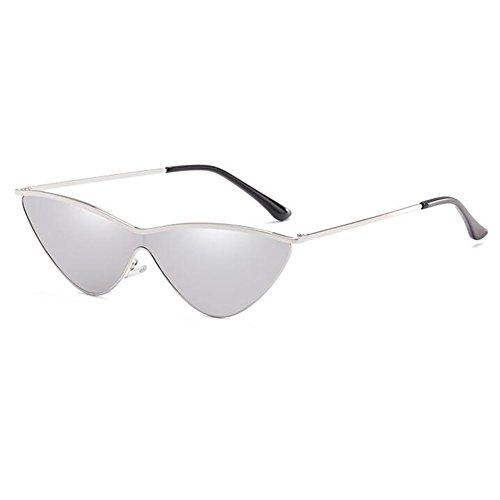 Zhuhaixmy MOD-Stil Modische Individualität Dreieck Sonnenbrille Antireflex-Gläser aus Metall Brille