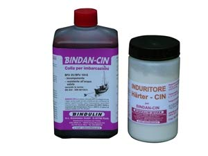 BINDULIN Colla Con Induritore Bindan-cin - Uso Imbarcazioni 1 Kg Con Induritore