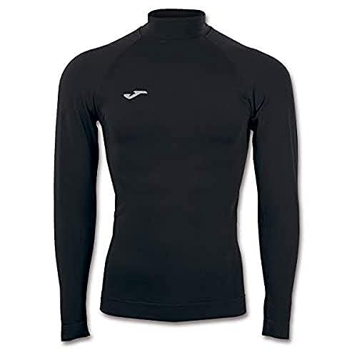 Joma Brama Classic Camiseta Termica, Hombre, Negro, L-XL