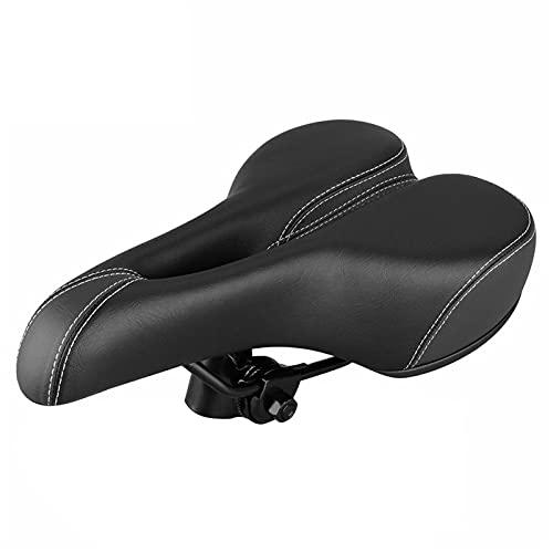 auspilybiber Asiento de bicicleta, Sillín de bicicleta MTB Sillines Asiento cómodo Ciclismo a prueba de golpes Bicicletas Soft Seat Cushion MTB plegable Ciclismo