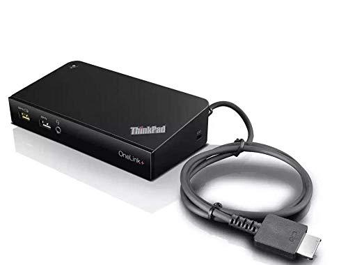 Lenovo ThinkPad OneLink+ Dock | DU9047S1 | für ThinkPad X1 Tablet, ThinkPad Yoga P40/14/260/460, X1 Yoga, X1 Carbon 4 Gen (ohne Netzteil) DC7 (Generalüberholt)