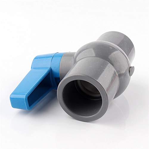MDD ID 20/25/32/40/50 / 63mm Valvole A Sfera per Tubi in PVC, per Sistema di Irrigazione Ad Acqua Tubo di Drenaggio Valvola Rapida Tubo dell'Acqua Raccordi Raccordi (Size : Inner Dia 20mm)