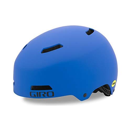 Giro Dime Youth BMX MTB Bike Cycling Helmet - Extra Small (47-51 cm), Matte Blue (2021)