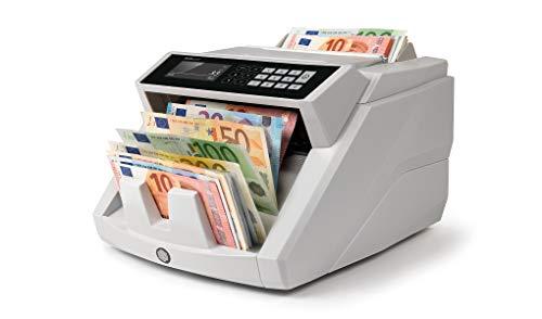 Safescan 2465-S - Contadora totalizadora de billetes, Cuenta billetes de...