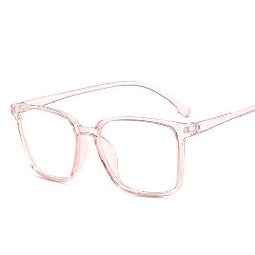 Gafas Anti Luz Azul Para Hombre, Gafas Transparentes Para Ordenador, Protección Ocular, Montura Cuadrada, Gafas Ópticas Para Mujer