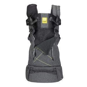 LÍLLÉbaby 6-in-1 Pursuit All Seasons Ergonomic Baby & Child Carrier for On-The-Go Babywearing, Graphite